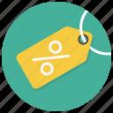 discount, percent, percent tag, price tag, sale, shop, tag icon