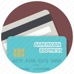 american express, cards, credit card, ecommerce, payment, shop, shopping icon