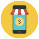 buy, dollar, money, online shop, phone, shop, shopping icon
