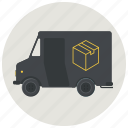 courier, delivery, delivery service, delivery truck, service, shipping, truck icon