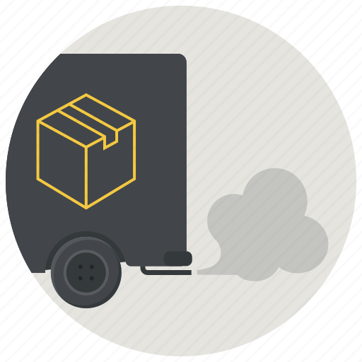 courier, delivery, express delivery, logistics, shipping, truck, vehicle icon