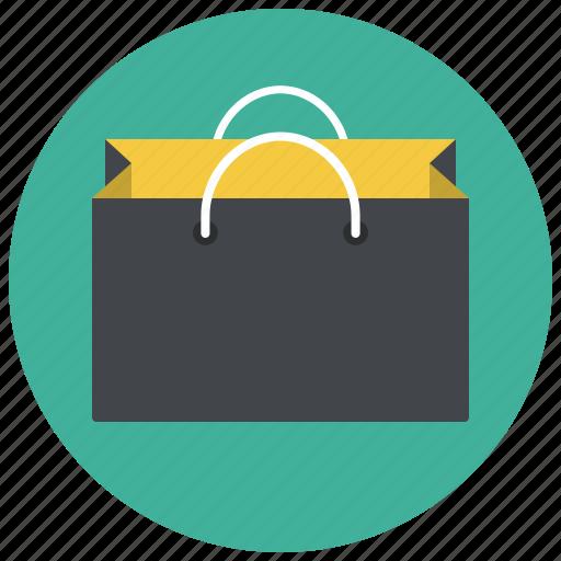 bag, giftbag, paper bag, paperbag, shop, shopping, shopping bag icon
