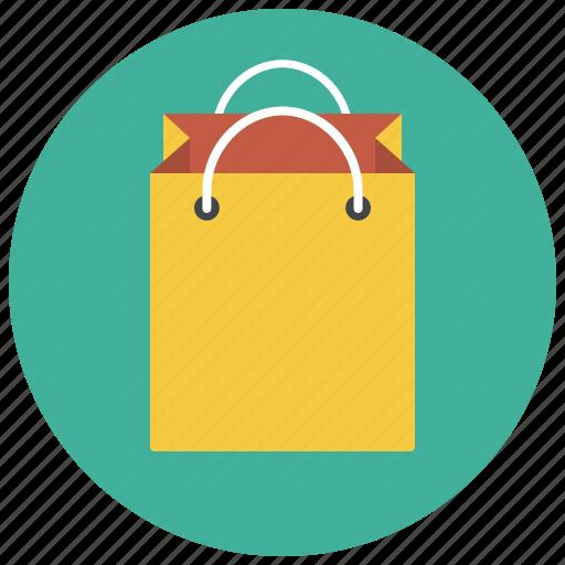 bag, gift bag, package, paper bag, shop, shopping, shopping bag icon