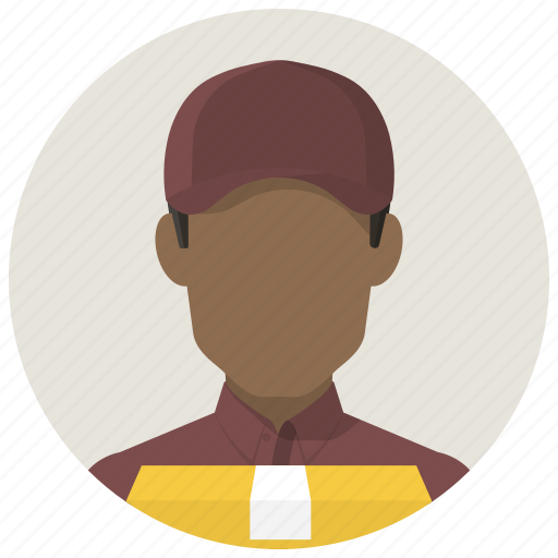 courier, deliver, delivery, delivery man, delivery service, package, service icon