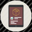 app form, form, ipad, ipad app, order, order form, shop icon