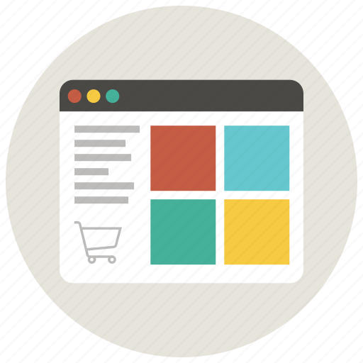 browser, business, buy, ecommerce, online, shop, shopping icon