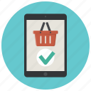 buy, ipad, shop, shopping, shopping app, shopping basket, store app icon