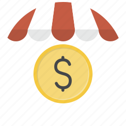 currency, dollar, money, price, shop, shopping, store icon