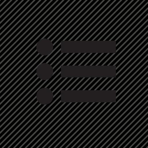 menu, save, wish list icon