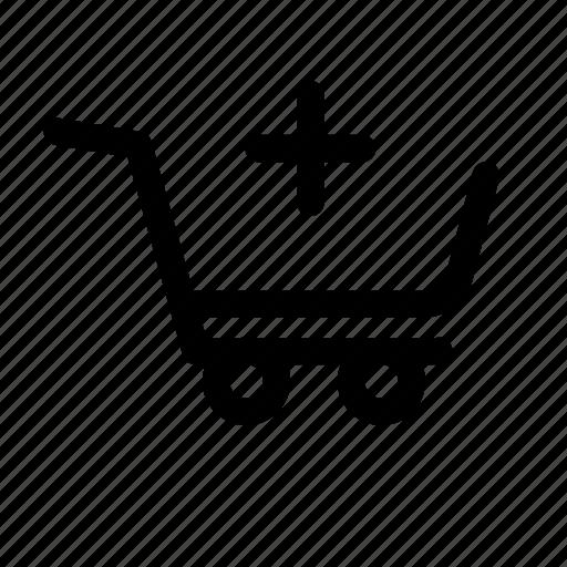 add, basket, buy, cart, checkout, money, order icon