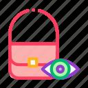 bag, control, inspection, shoplifting, shopping