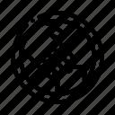 prohibition, shoplifting icon