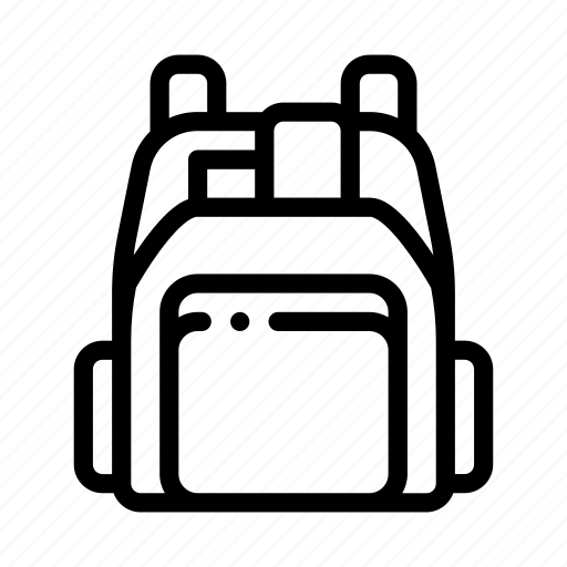 backpack, human, shop, shoplifting icon