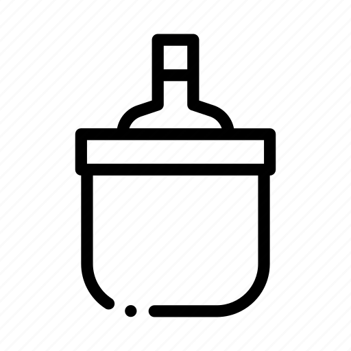 bottle, bucket, cooling, drink, shoplifting icon