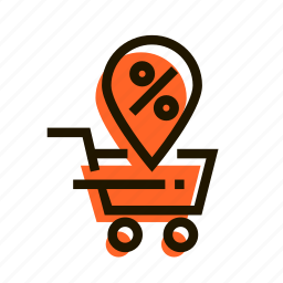 basket, buy, discount, diskount, price, profit, sale icon