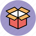 box, cardboard box, carton, delivery package, package icon