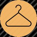 closet, clothes hanger, clothing, hanger, wardrobe icon