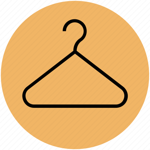 closet, clothes hanger, clothing, hanger, wardrobe icon