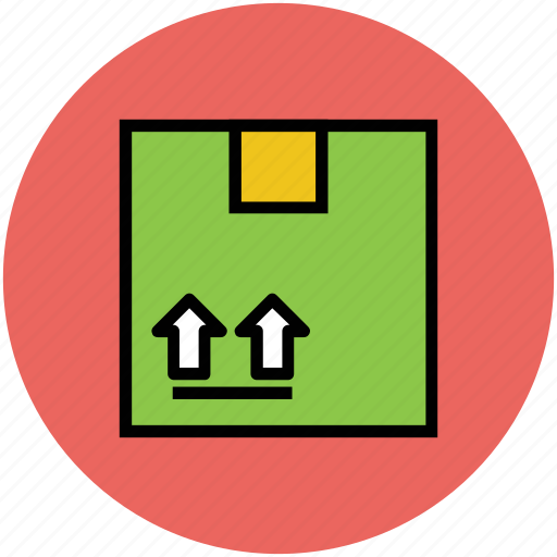 card box, courier, delivery box, delivery package, parcel icon