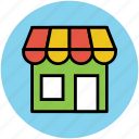 building, market, market stand, shop, store, supermarket icon