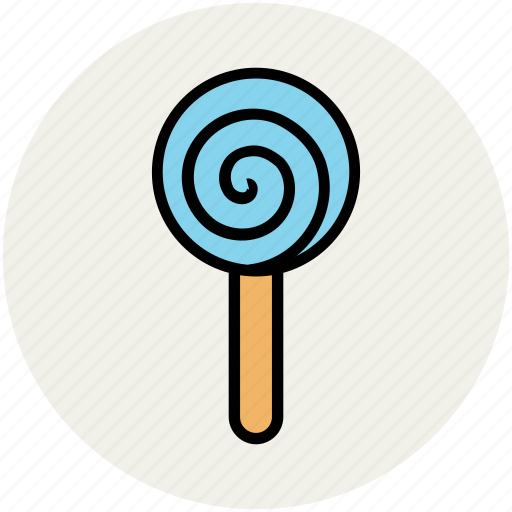 candy, confectionery, lolli, lollipop, sweets, swirl lollipop icon