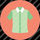 casual wear, collar shirt, garment, half sleeves, shirt icon