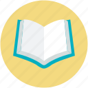 book, education, opened book, reading, study icon