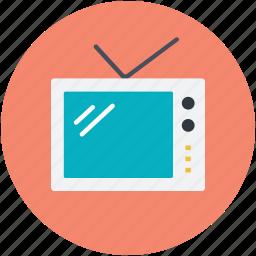 idiot box, retro tv, tv, tv set, vintage tv icon