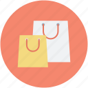 branding, shopper bags, shopping bags, supermarket bags, tote bags icon