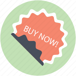 auction, buy now, marketing, special offer, sticker icon