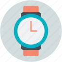 hand watch, time, timekeeper, watch, wristwatch icon