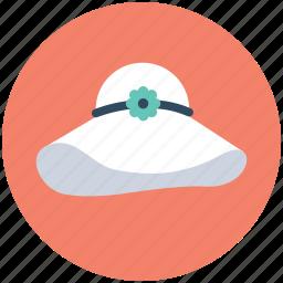 fashion hat, hat, headwear, lady hat, woman hat icon