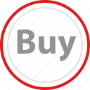 bttn, buy, now, online, sale icon