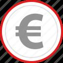coin, euro, price, sale icon
