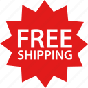 amazon, free, price, promotion, shipping, tag icon