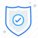 ecommerce, online, protection, safe, security, shield, shopping icon
