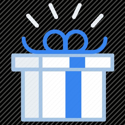 box, commerce, gift, present, reward, shopping icon