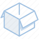 box, shopping, parcel, shipping, delivery, open