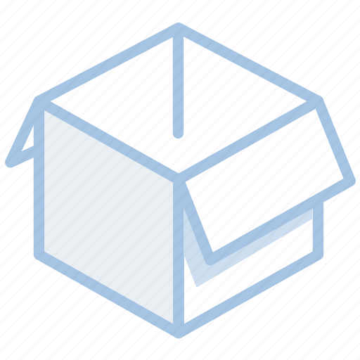 box, delivery, open, parcel, shipping, shopping icon
