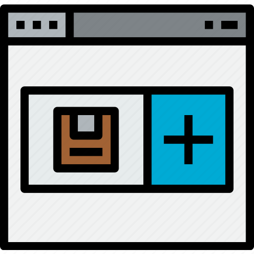 add, commerce, market, sale, shop icon