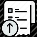 arrow, commerce, list, market, sale, shop, shopping icon