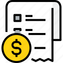 commerce, list, market, money, sale, shop, shopping icon