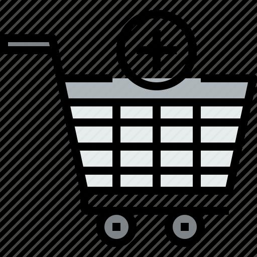 add, cart, commerce, market, sale, shop, shopping icon