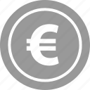 euro, funds, pay, sign, uk icon