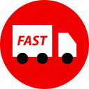 ecommerce, fast, online, shipping, shop, shopping icon
