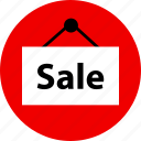 event, online, sale, sign icon