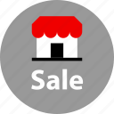 event, holiday, sale, store icon