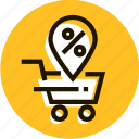 basket, buy, discount, diskount, price, profit, sale icon