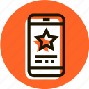 award, bookmark, e-commerce, favorite, shopping, star, telephon icon