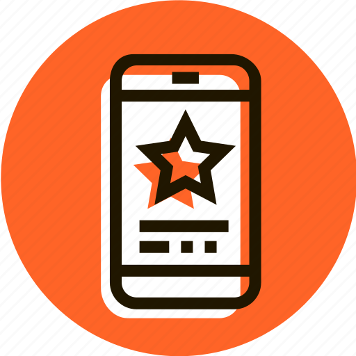 award, bookmark, e-commerce, favorite, shopping, star, telephon icon